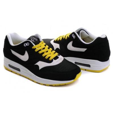 air max 1 noir et jaune
