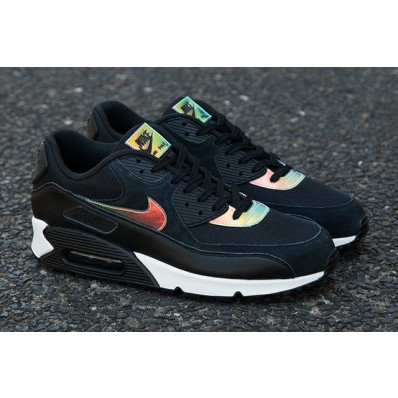 air max 90 noir iridescent