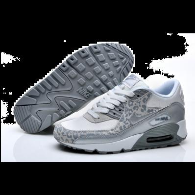 buy online 9890a c98d3 ... clearance dam nike air max 90 grå leopard d3afb 97c78