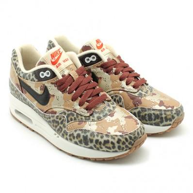 nike air max 1 prm desert camo leopard
