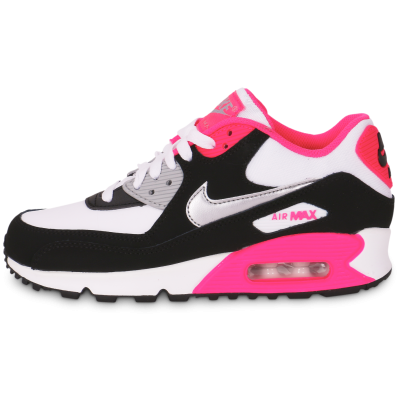 nike air max 90 rose noire blanche
