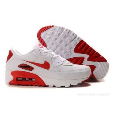 nike air max 90 rouge et blanche