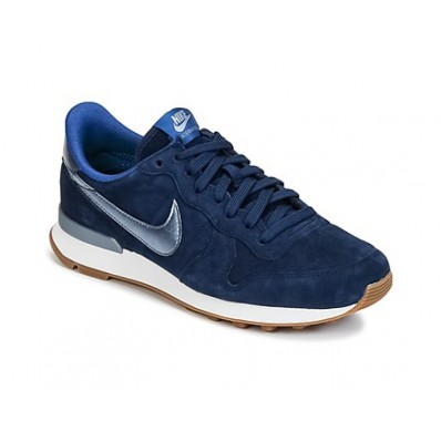 nike internationalist bleu argent