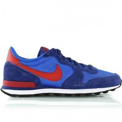 nike internationalist bleu rouge
