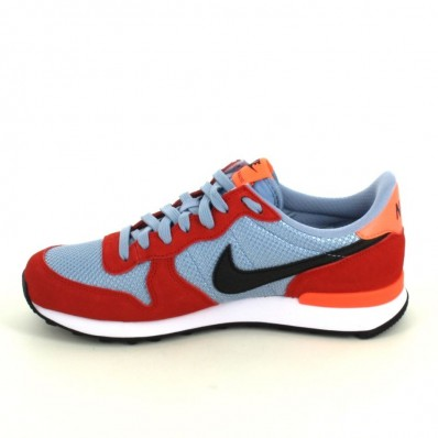 nike internationalist gris rouge