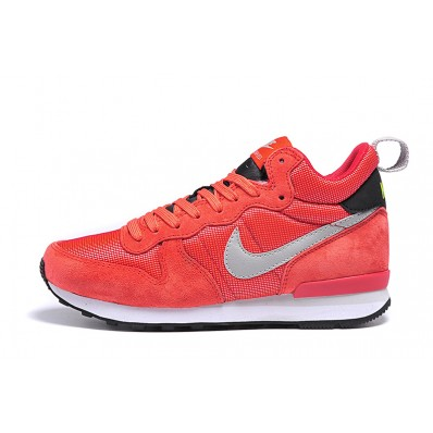 nike internationalist mid femme rouge