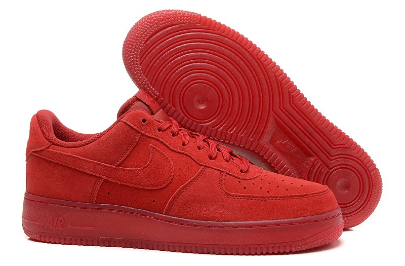 reputable site e056a 273d8 nike air force 1 homme rouge