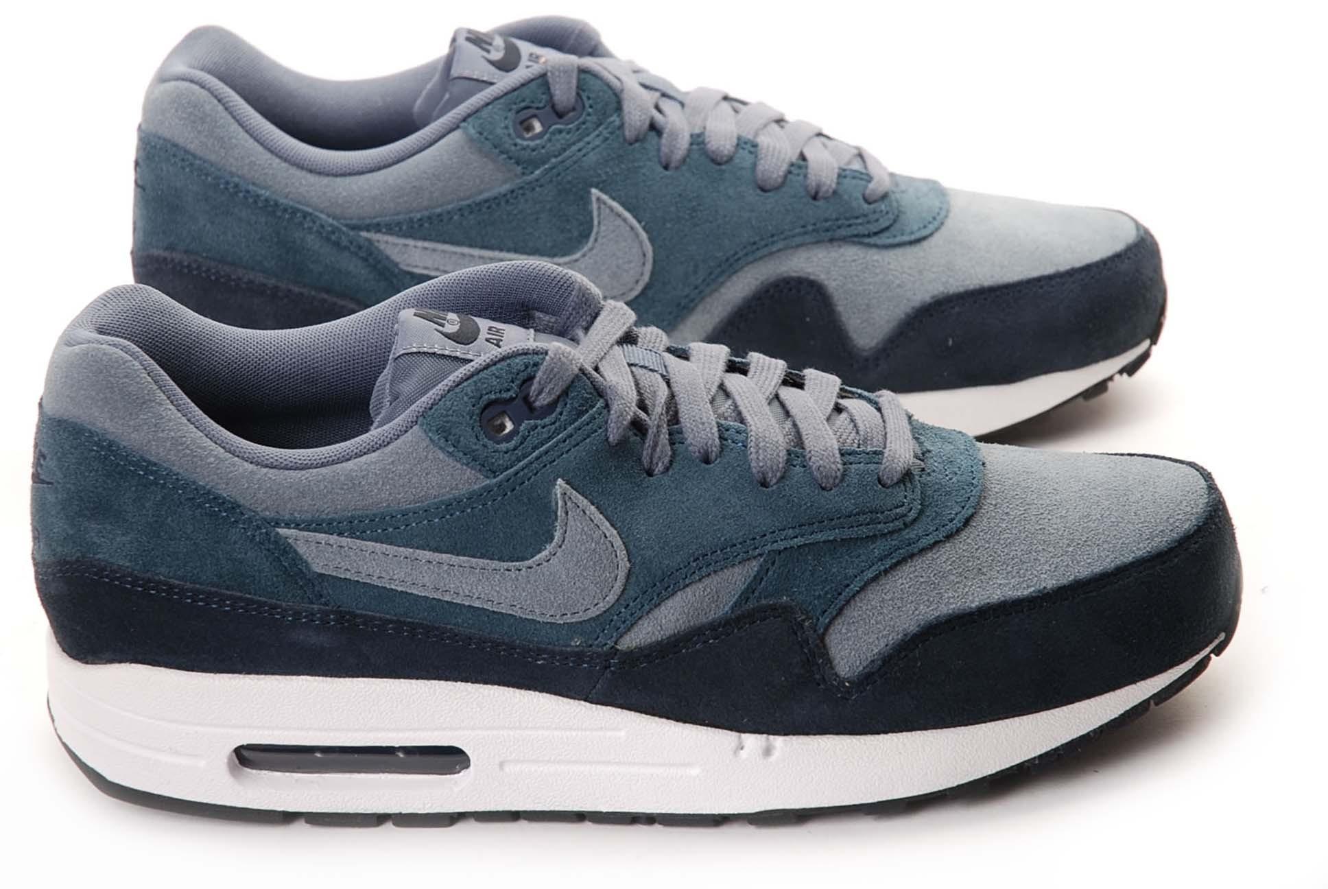 air max one gris bleu