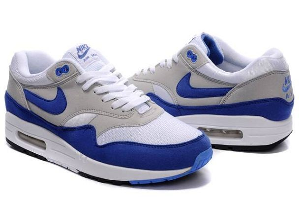 air max one blanche et bleu