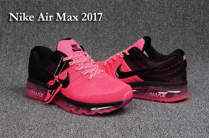 the best attitude b1fa1 bb7d2 air max 2017 femme rose et noir