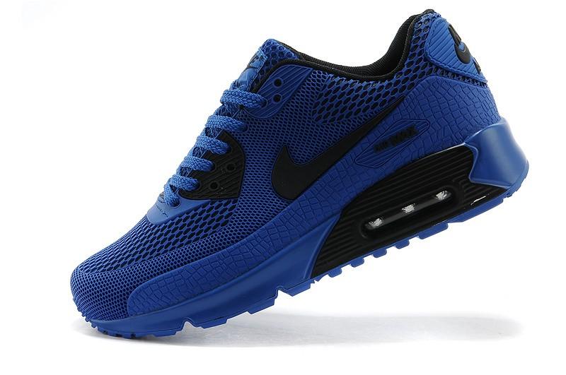 air max 90 2014 noir et bleu