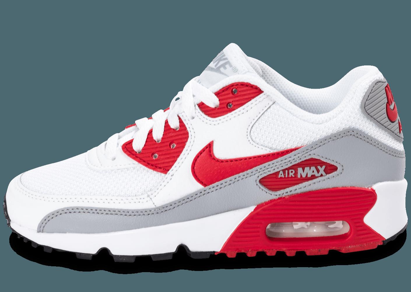 air max 90 rouge et blanc