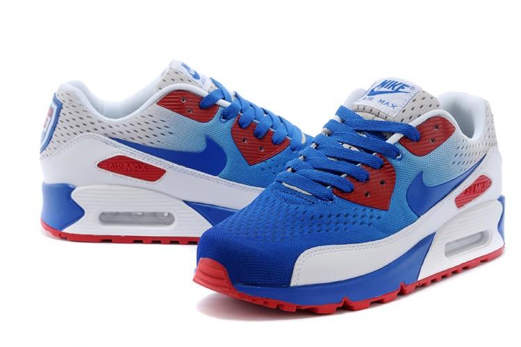 air max 90 bleu rouge