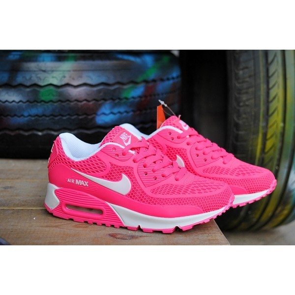 be98aaa775f air max 90 enfant fille rose