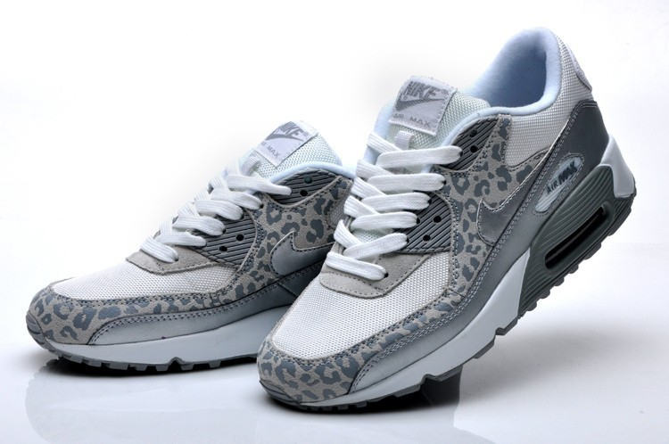 the latest 5b90e 149c8 air max 90 grise leopard