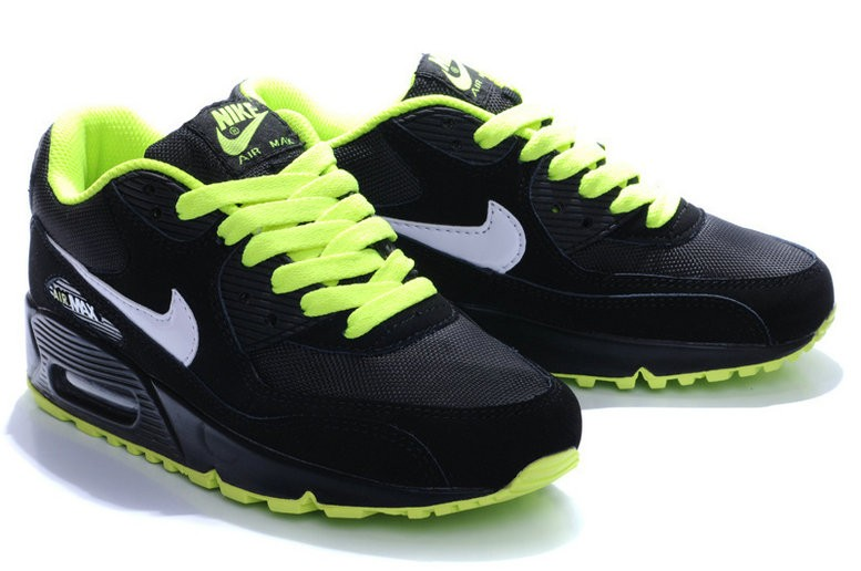 air max 90 homme vert et noir