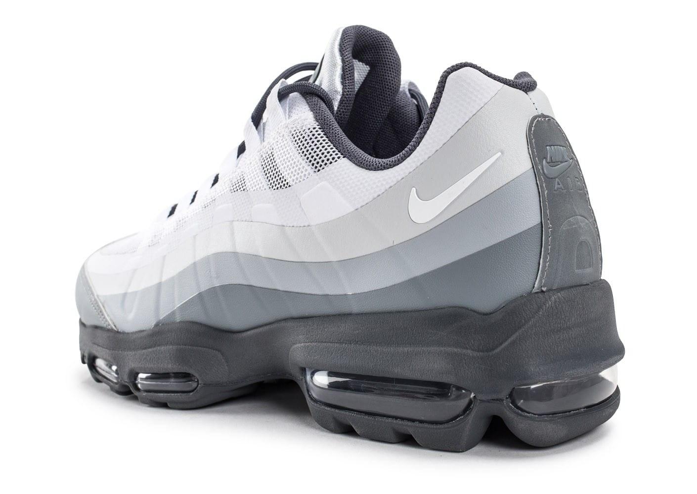 air max 95 blanche grise