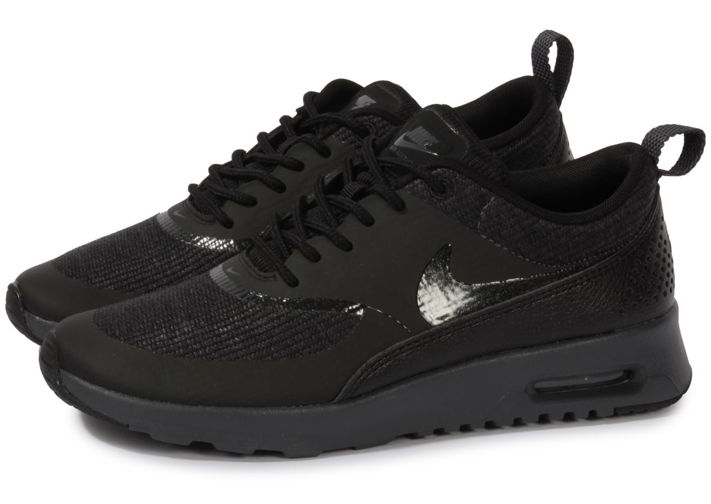 the best attitude 7d082 3a2dd air max thea femme noir