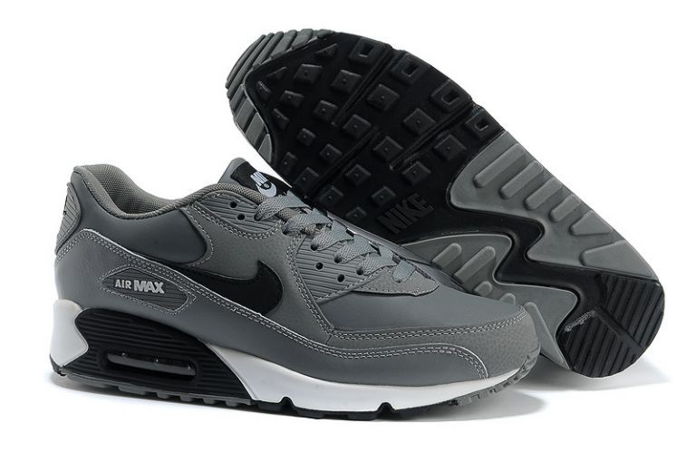 nike basket homme air max 90 jcrd grise