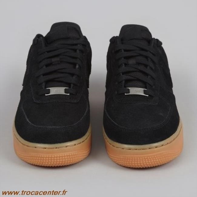 low priced d33ed cc8b6 nike air force 1 suede noir femme