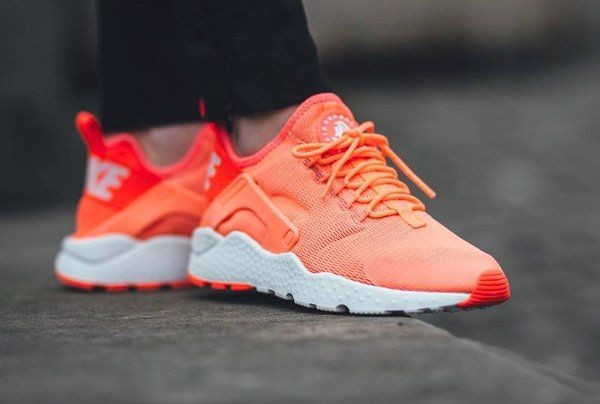 san francisco 7e9ae 860ee nike air huarache femme orange