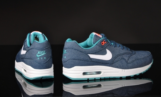 huge selection of 6d145 03a94 nike air max 1 bleu turquoise