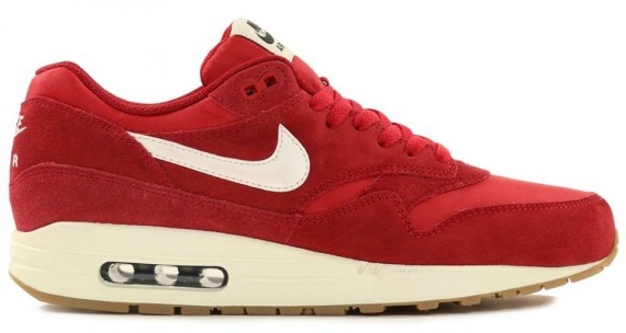nike air max 1 essential rouge femme