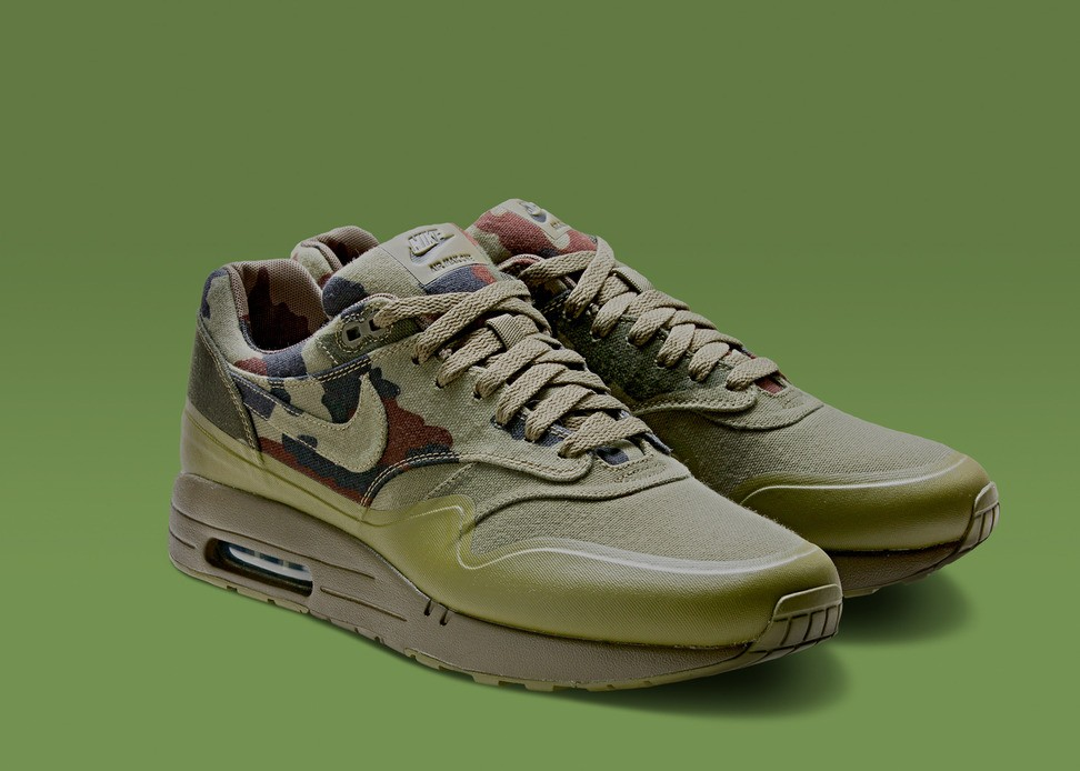nike air max 1 camouflage