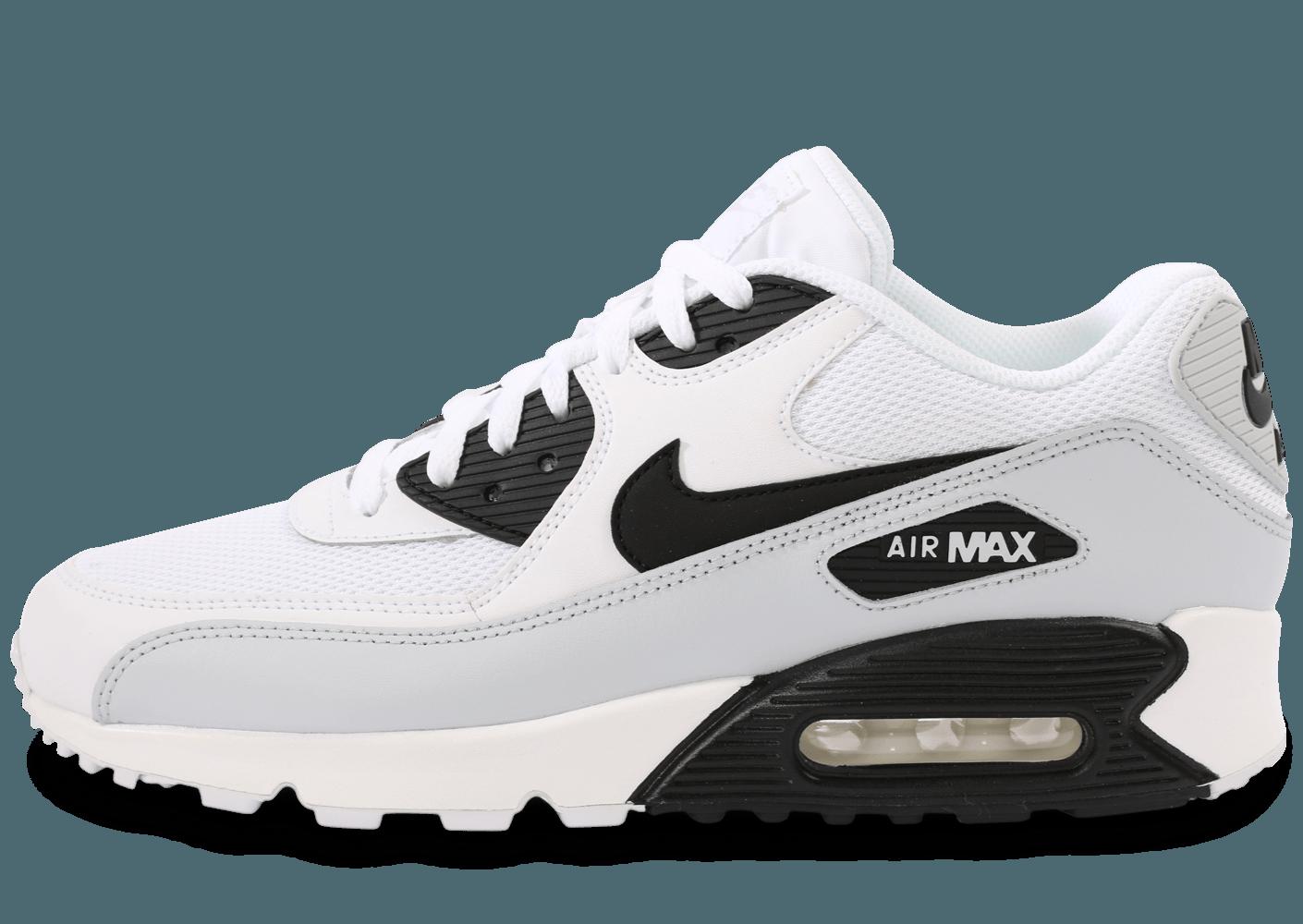 air max 90 blanc noir