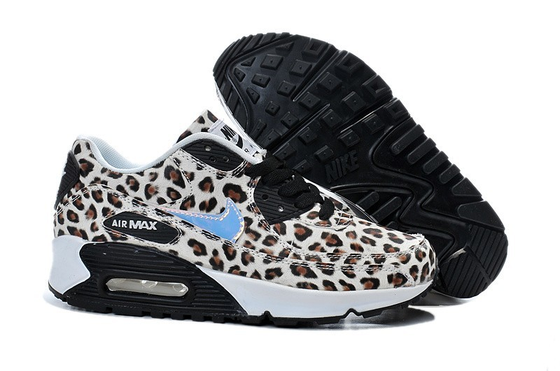 basket nike grise leopard