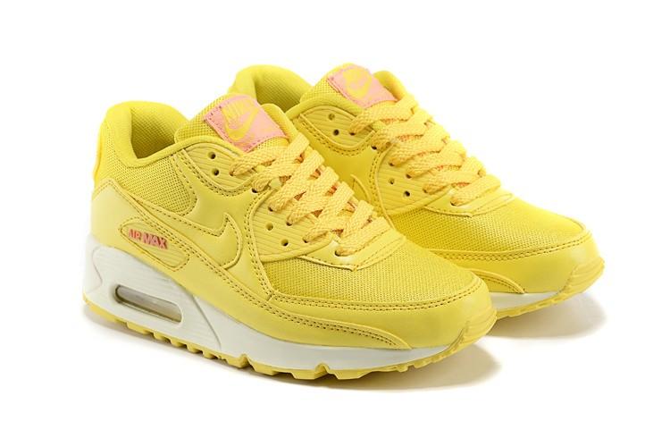air max femme jaune