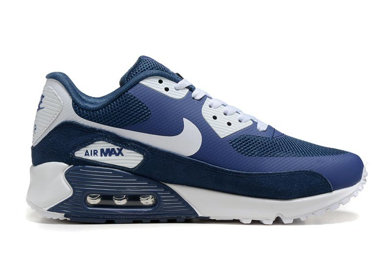 best sneakers ef50f 58548 nike air max 90 homme chaussures blanc bleu 3037