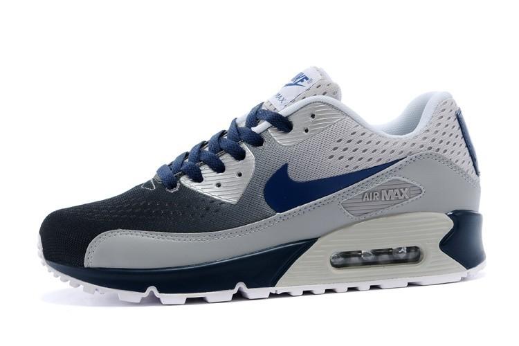 air max 90 bleu gris