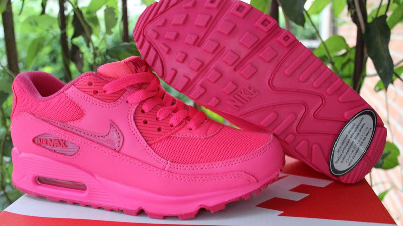 new concept d8fa9 f7fd9 nike air max 90 hyperfuse femme rose chaussure running