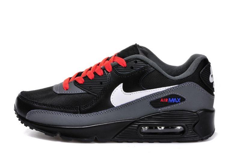Nike Air Max 90 Prm Tape Infrarouge Rouge Noir