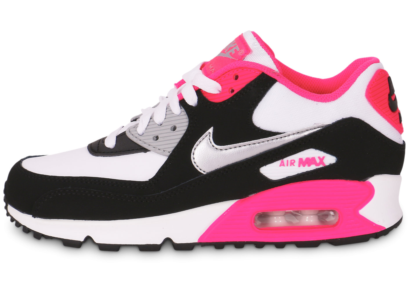 online store 238f5 0af02 nike air max 90 rose noire blanche
