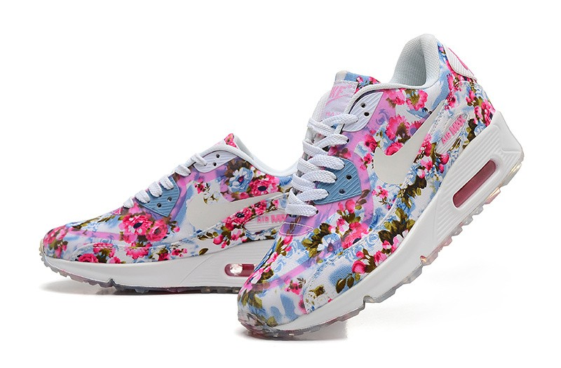 nike air max 90 wild floral rose