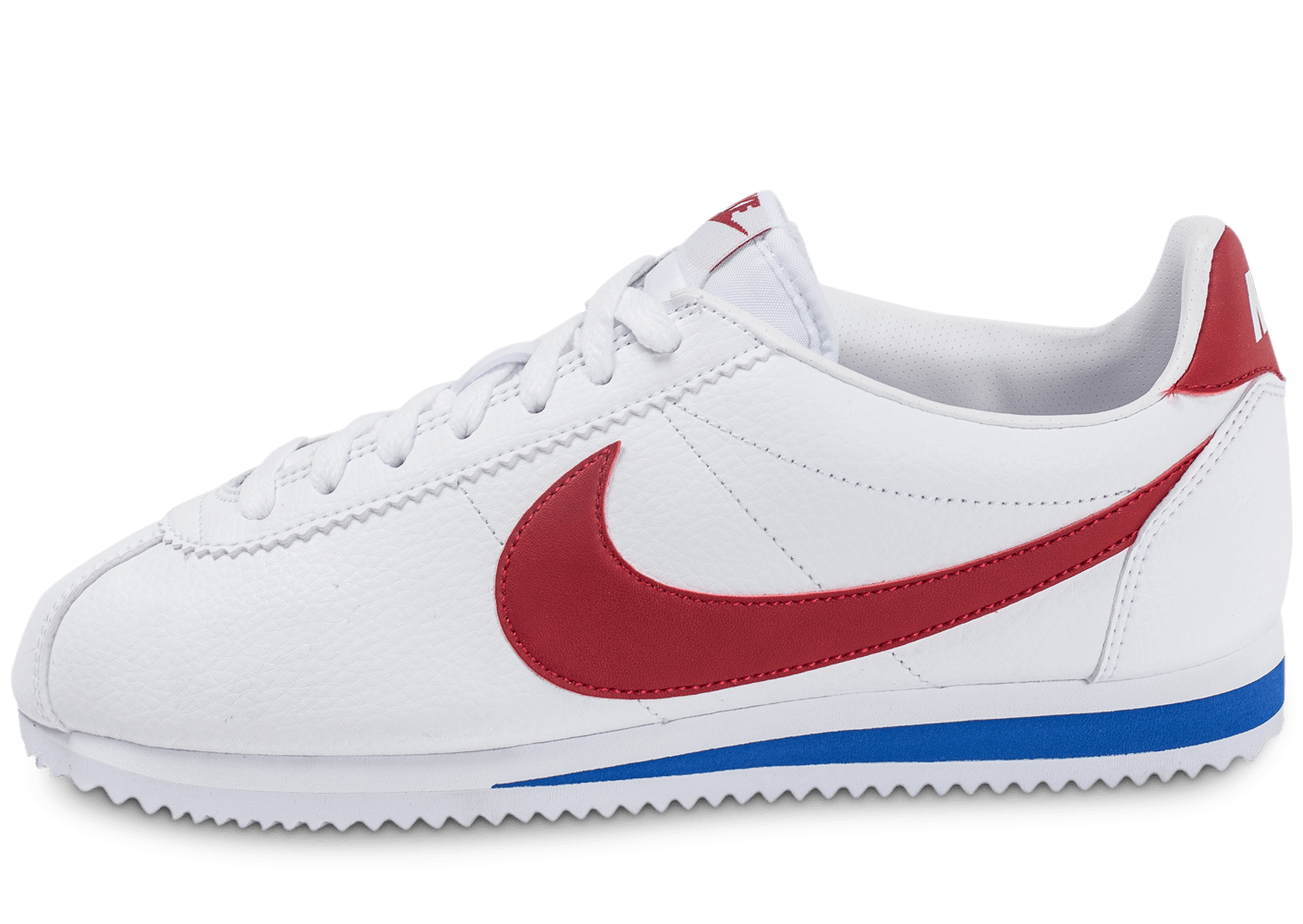 first rate picked up various colors nike cortez rouge et bleu