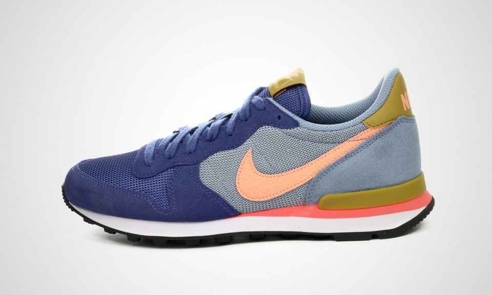 nike femme internationalist bleu