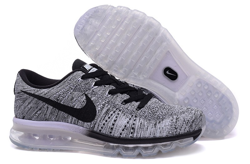 nike flyknit air max homme gris