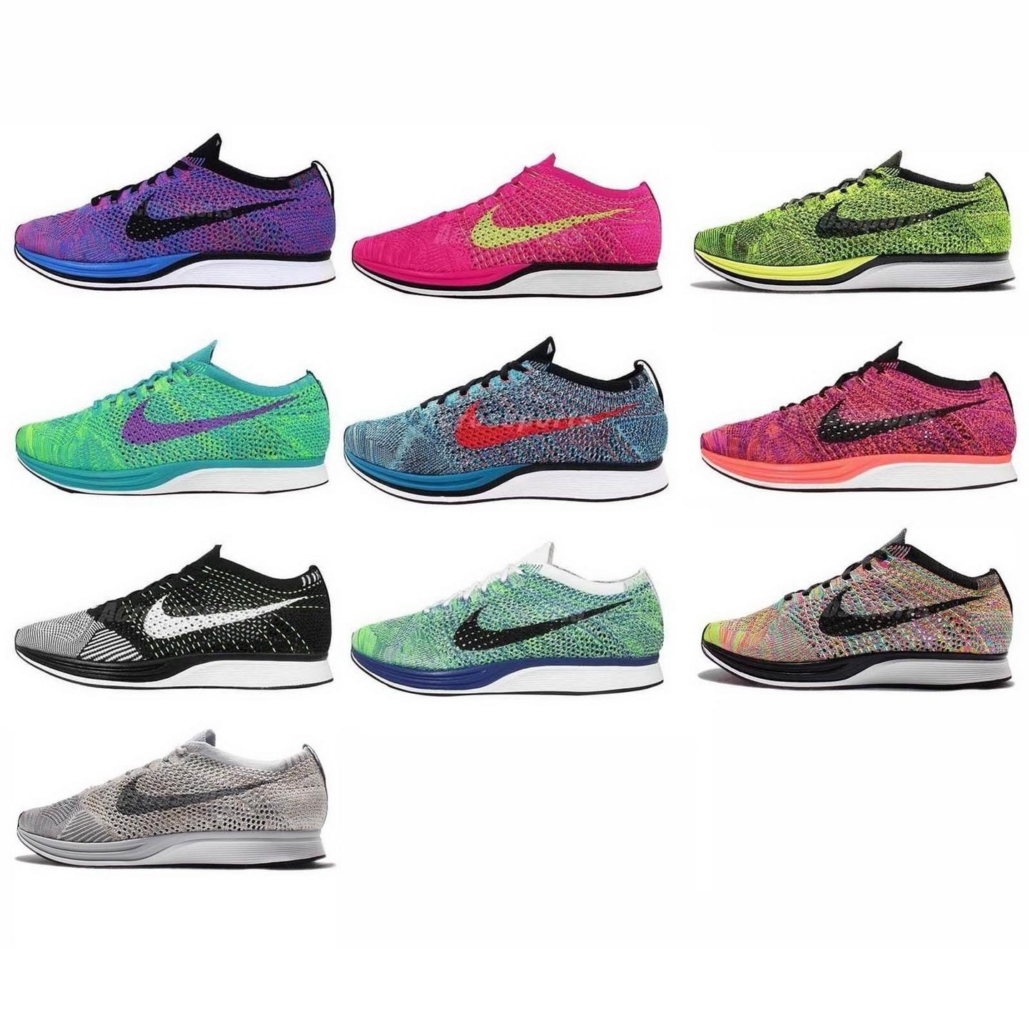 finest selection c1218 6b9e5 nike flyknit racer pour courir