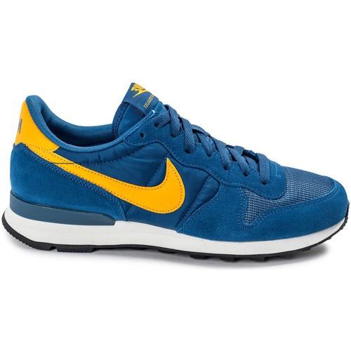 nike bleu jaune