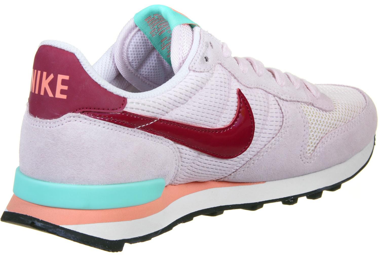 buy online 1822e 5b311 nike internationalist w chaussures bordeaux rose