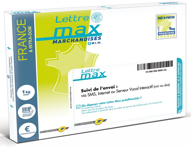 lettre max prix lettre max 1kg lettre max