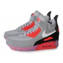air max 90 sneakerboot ice grise