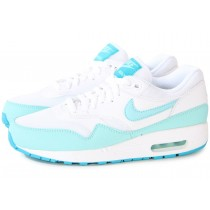 nike air max 1 essential blanche turquoise