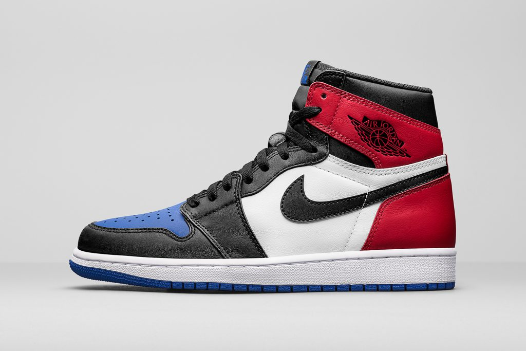 air jordan bleu et rouge, Air Jordan 1 Retro High OG Top 3