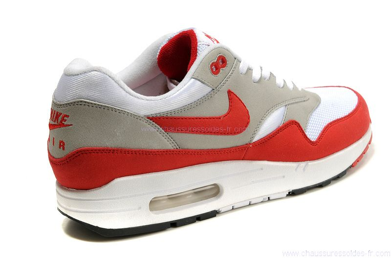 new arrivals aa731 4acc3 air max 1 rouge blanc gris