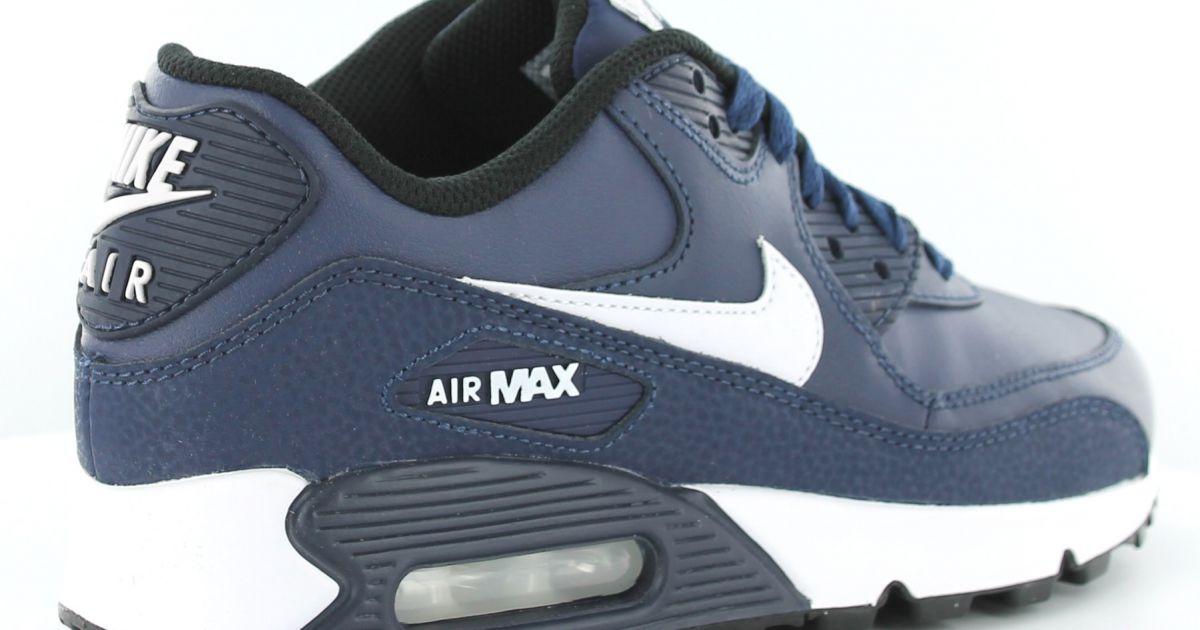 2866d14f9bb0 air max 90 cuir bleu, air max 90 femme en cuir