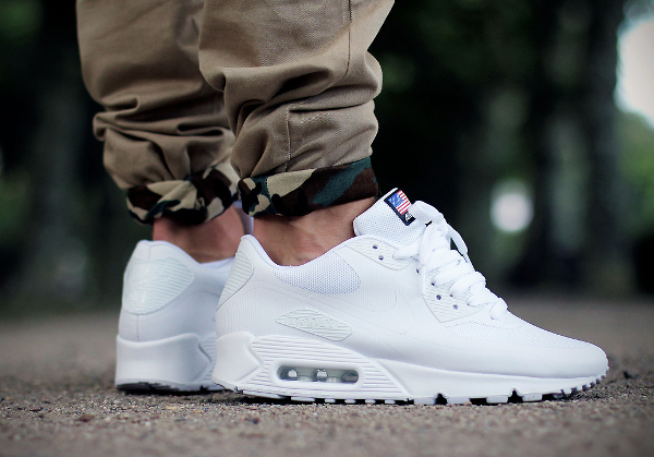 air max blanche hyperfuse